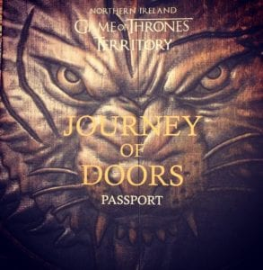 Journey of Doors Passport Book